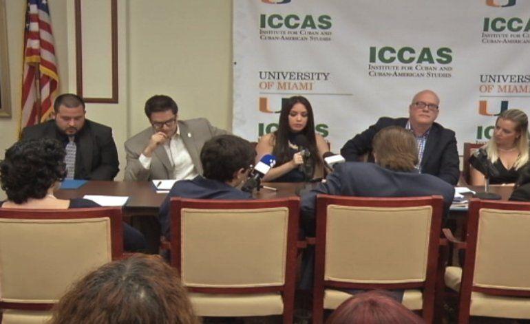 Jóvenes Cubano-Americanos se reunieron para discutir como  ayudar a los cubans en la isla