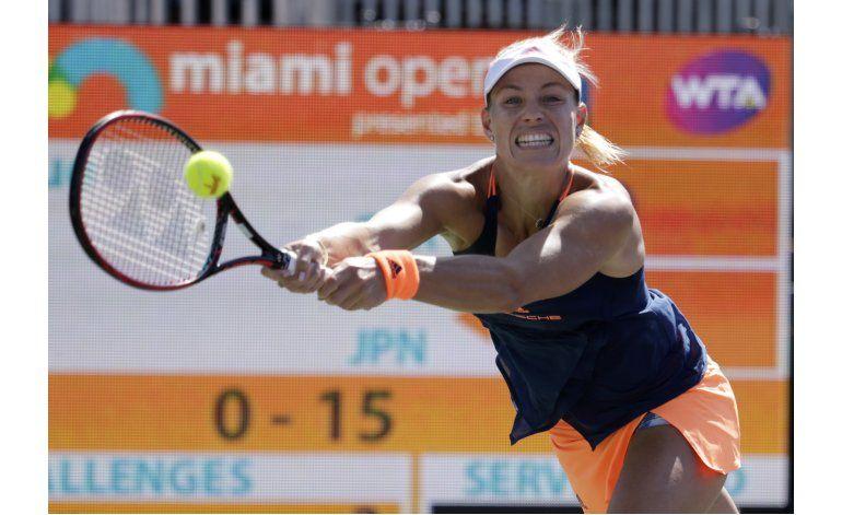 Kerber desplaza otra vez a Serena de la cima del ranking