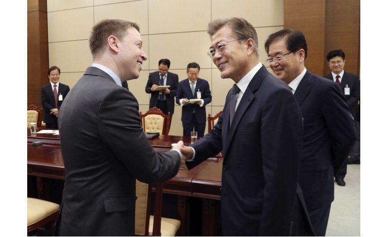 El nuevo presidente de Corea del Sur visitará EEUU en junio