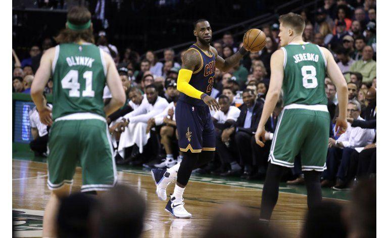 Los Celtics se vuelven a topar con LeBron en playoffs
