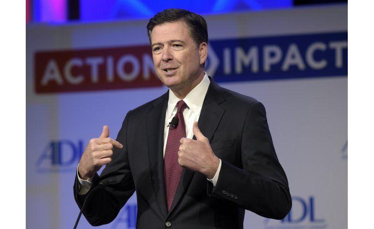 Congreso realizará audiencias sobre destitución de Comey