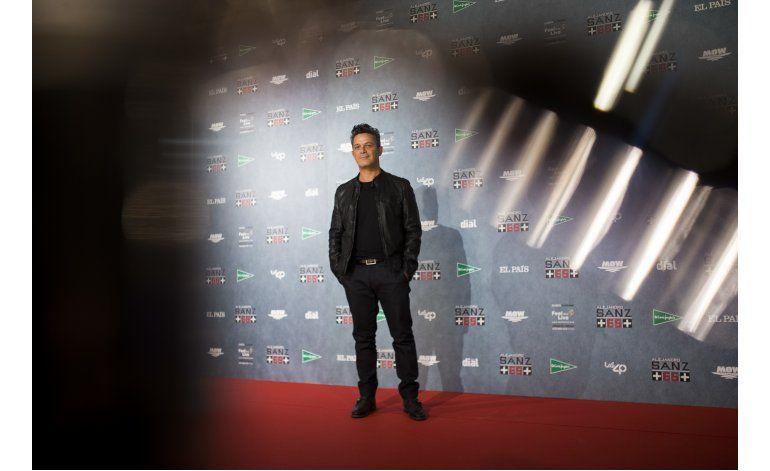 Alejandro Sanz se rodea de astros para concierto aniversario