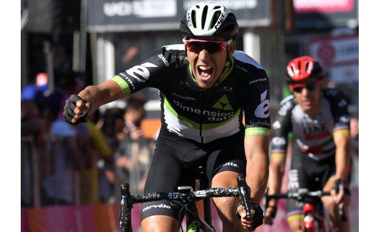 Fraile gana 11na etapa del Giro; Quintana sigue segundo