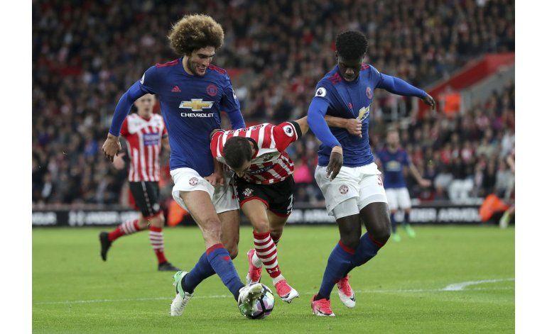 Man United empata sin goles con Southampton