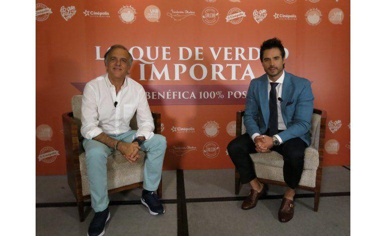 Paco Arango trae su cine benéfico a México