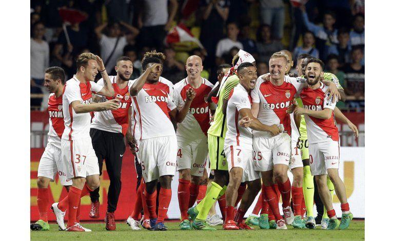 Mónaco conquista su primer título de Francia en 17 años