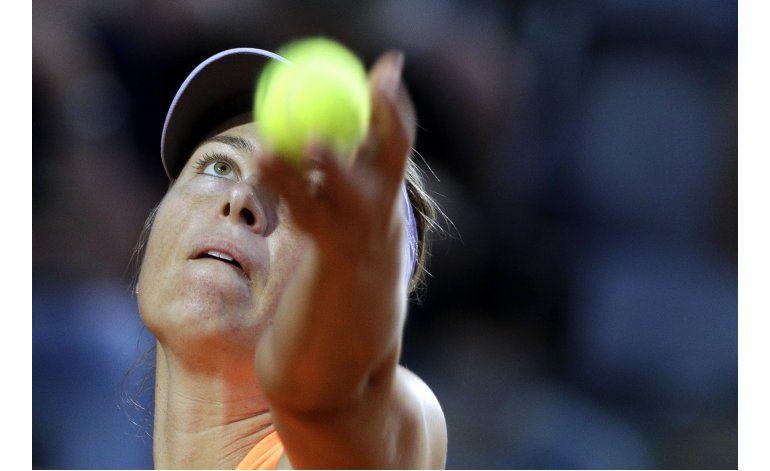 Sharapova recibe wild card para torneo de Birmingham