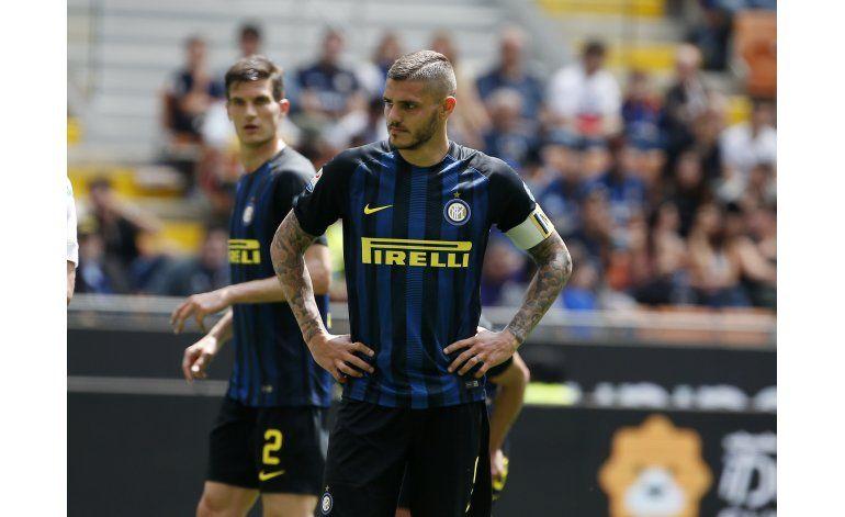 Inter va de mal en peor en la Serie A italiana