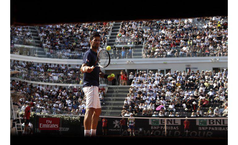Djokovic y Del Potro se citan en cuartos de final en Italia