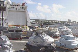 incautan cargamento de 18 toneladas de cocaina