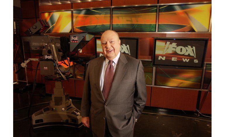 Roger Ailes, fundador de Fox News, muere a los 77 años