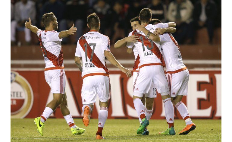 Libertadores: River vence a Melgar y termina líder