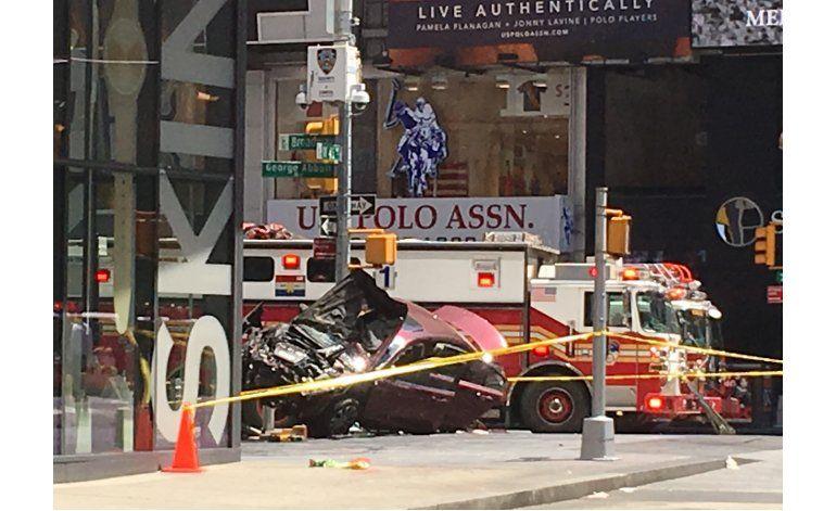 "Fiscal: Conductor en Times Square quería ""matarlos a todos"""