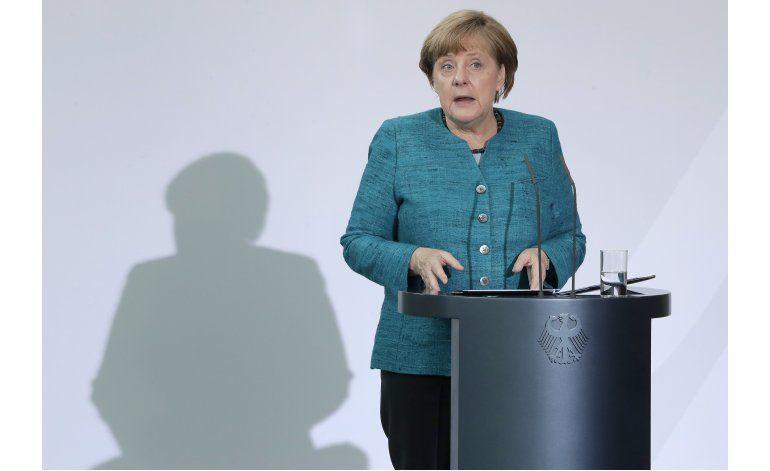 Merkel: Brexit es negociar un acuerdo comercial al revés