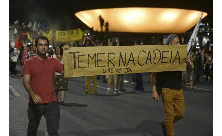 Periódico de Brasil pide la renuncia del presidente Temer