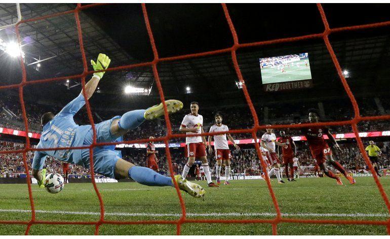 Fin de racha ganadora de Toronto FC en empate ante Red Bulls
