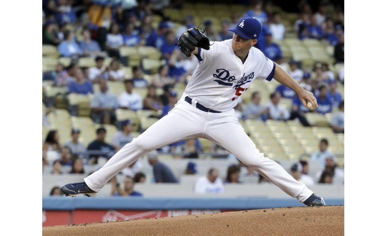 Wood amplía buena racha y Dodgers ganan 7-1 a Marlins