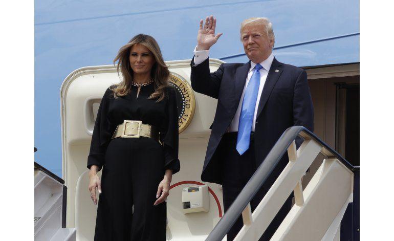 Arabia Saudí da una bienvenida fastuosa a Trump