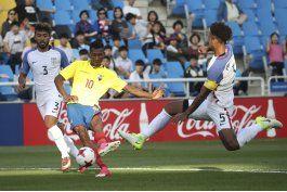 ecuador permite empate de eeuu en debut en mundial sub20