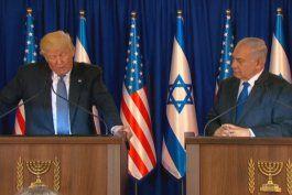 donald trump se reune con el primer ministro de israel benjamin netanyahu y ratifican alianza bilateral