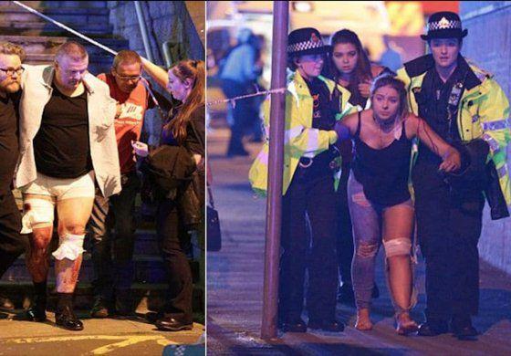 Corridas, pánico y gritos: los videos más dramáticos de las explosiones en el concierto de Ariana Grande en Manchester