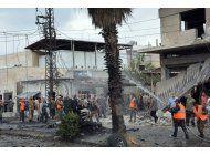 siria: explosiones en damasco y homs dejan 4 muertos