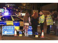 escenas de horror en lugar del ataque en manchester