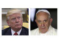 trump y el papa francisco se reuniran en el vaticano