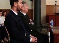 confirman la condena de 21 meses de carcel a lionel messi por fraude fiscal