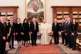 donald trump se reune con el papa francisco