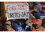 brasil: temer pierde otro asistente y la presion aumenta