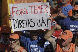 brasil: miles demandan renuncia de presidente temer