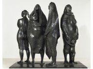 escultura de zuniga factura $3,1mm en subasta de christie?s