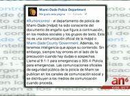 policia de miami dade advierte sobre una carta falsa que  circula en las redes sociales