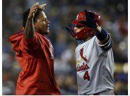 leake lidera a cardenales en triunfo por 6-1 sobre dodgers