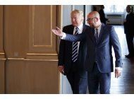trump se reune con lideres de union europea en bruselas