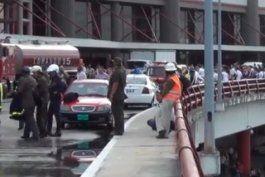 reportan accidente en el aeropuerto de la habana