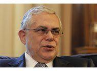 ex primer ministro griego lucas papademos herido en atentado