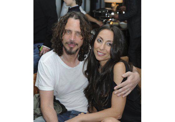 """Viuda de Chris Cornell escribe: """"Yo sé que no fuiste tú"""""""