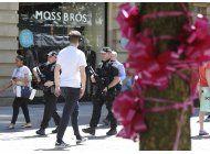 londres reduce su nivel de alerta terrorista; 11 detenidos
