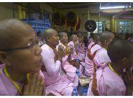 grupo nacionalista budista se congrega en mianmar