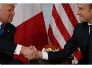 macron deja marca diplomatica de francia, incluso con trump