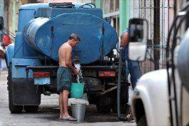 unas 852 000 personas sin agua en la habana por grave averia en un conducto