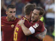 en el adios de totti, roma obtiene boleto de ?champions?