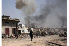 irak: paramilitares tratan de tomar pueblo clave