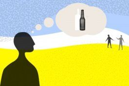 como es crecer con un padre o madre alcoholicos