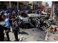 funcionarios elevan a 27 los muertos en ataques en bagdad