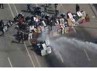 venezuela: opositores marcharan al centro de la capital