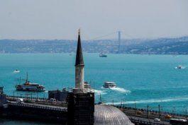 ¿por que el mar negro se volvio turquesa repentinamente?
