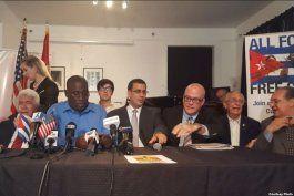 agradecen opositores cubanos de la isla y el exilio medidas de trump